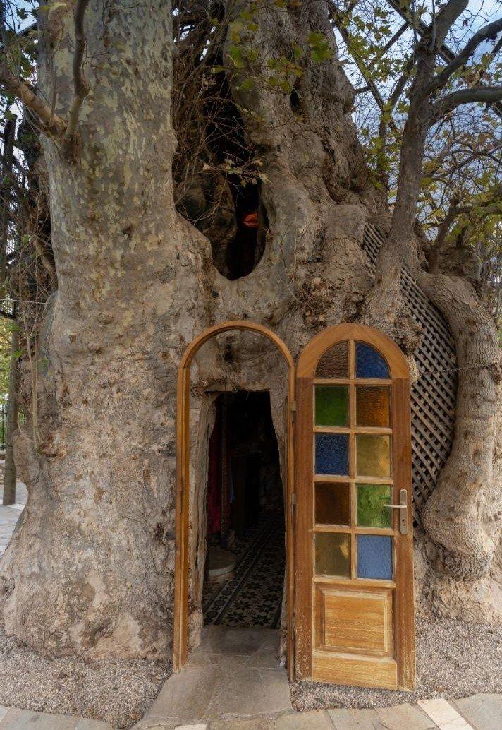 Panagia Plataniotissa (All Holy Virgin of the Plane Tree), Kalavrita, Greece
