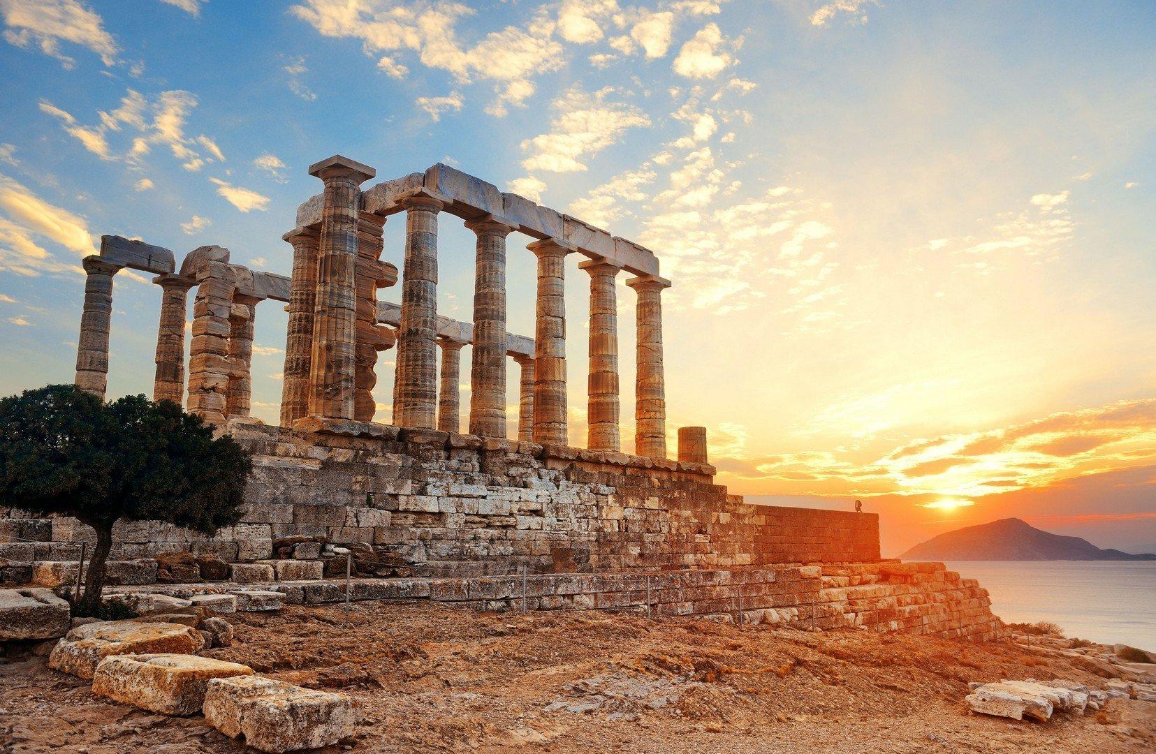 Poseidon Temple ,Cape Sounion, Greece