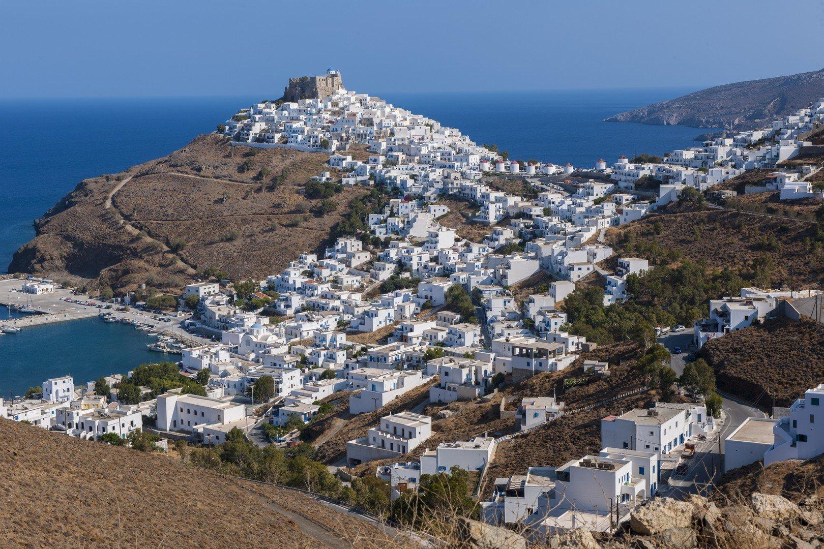Dorf Chora auf der Insel Astypalea, Dodekanes
