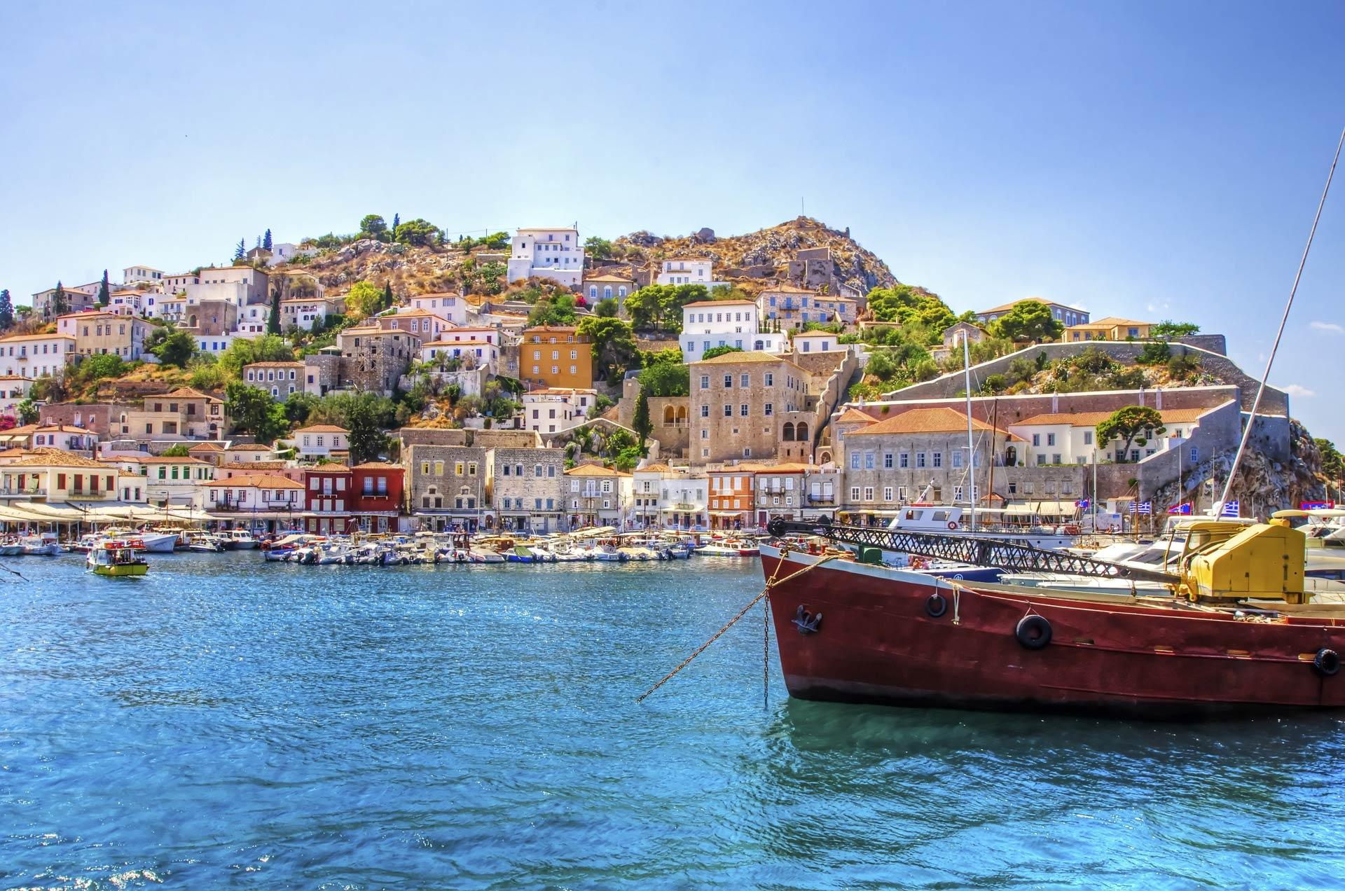Hydra Islas del Golfo Sarónico