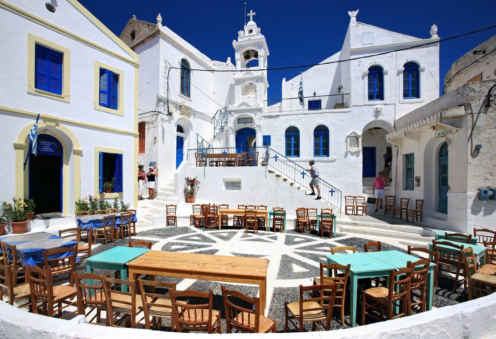 Porta square at Nikia village, Nisyros Island shutterstock_68700916