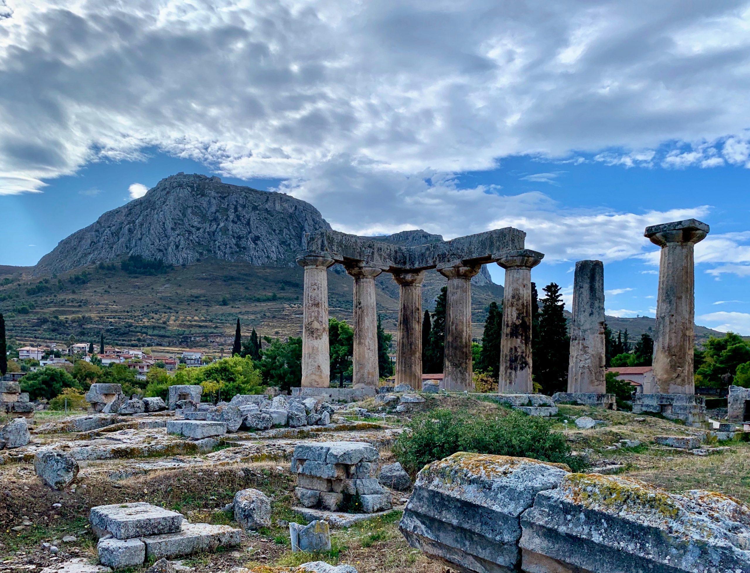 ruins during daytime