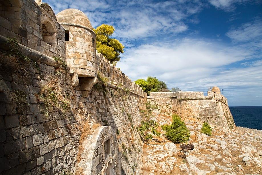 Rethymno Fortaleza, Crete Creta