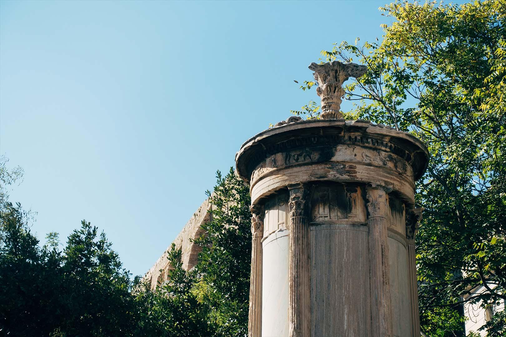 Lysicrates Plaka Athens