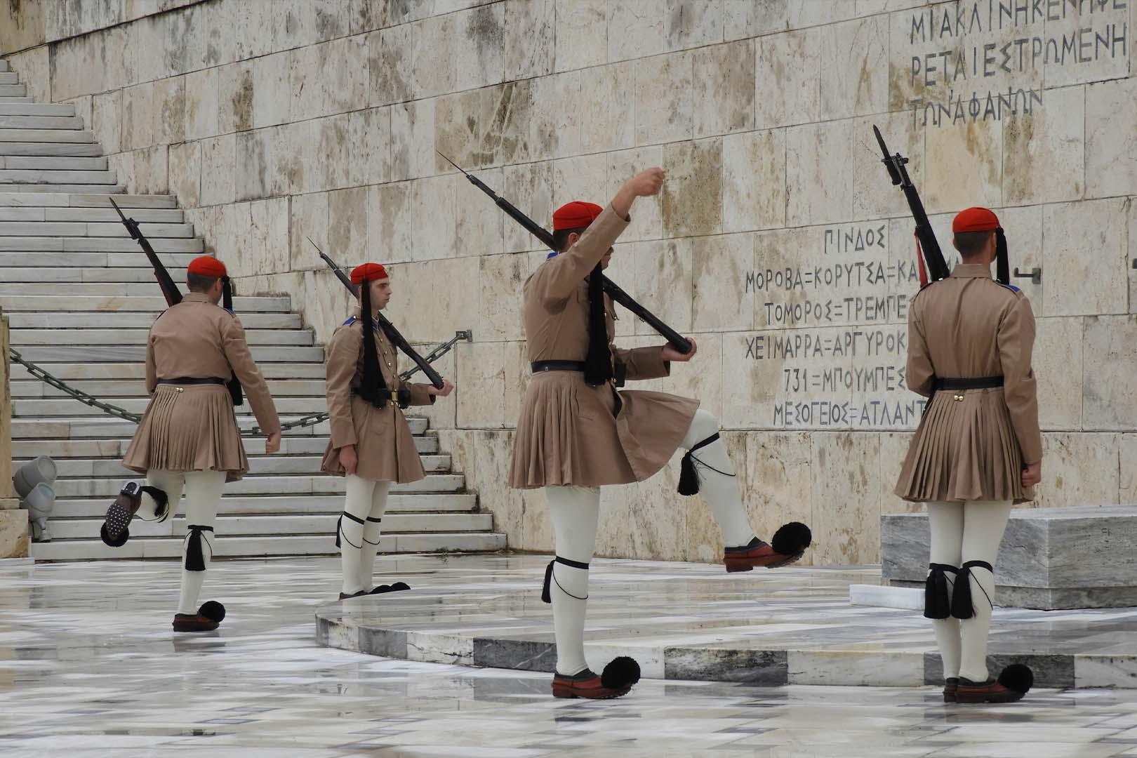 Recorrido a pie en Atenas, Athens walking tour