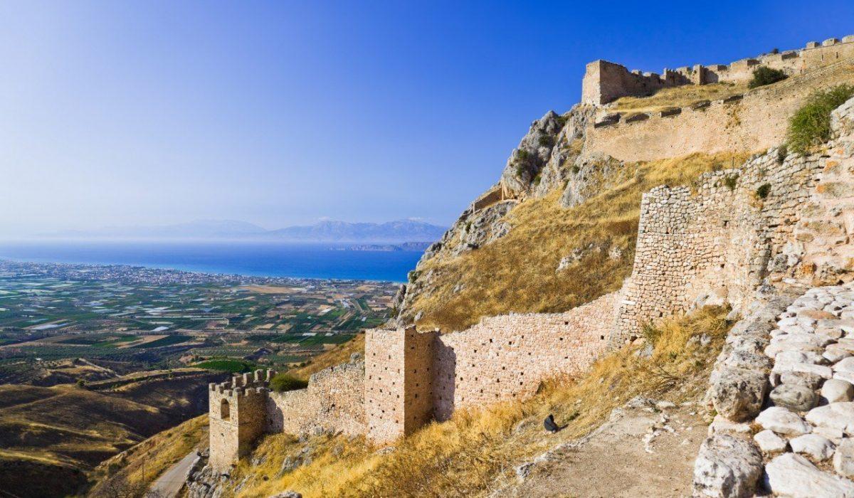 Acrocorinto, Corinto