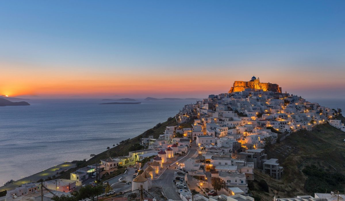 Sunrise at Astypalaia , Greece