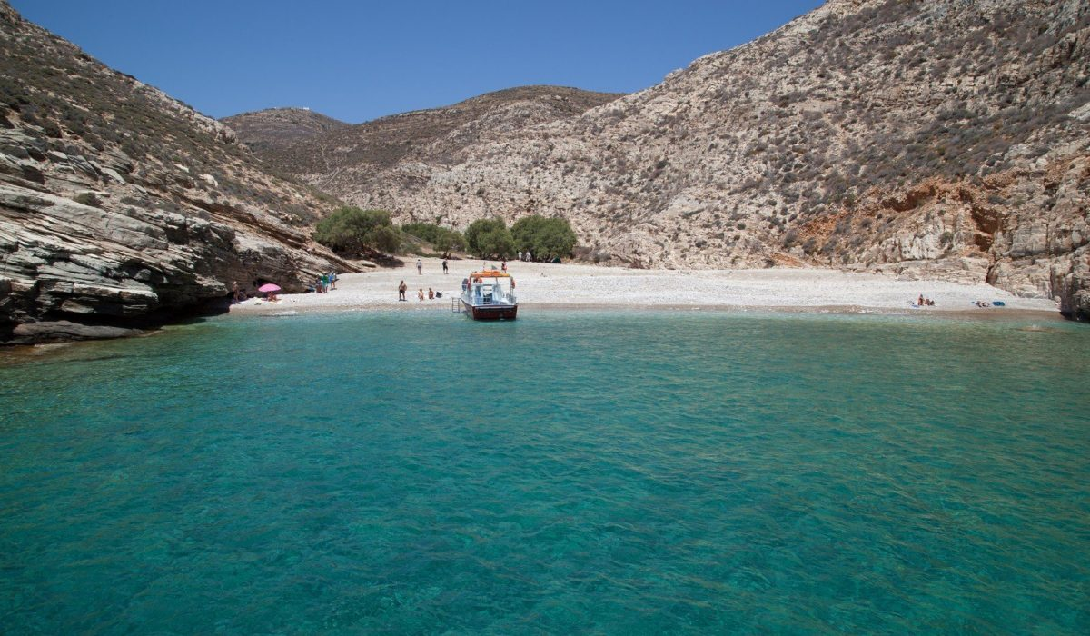 Spiaggia della Grecia Folegandros