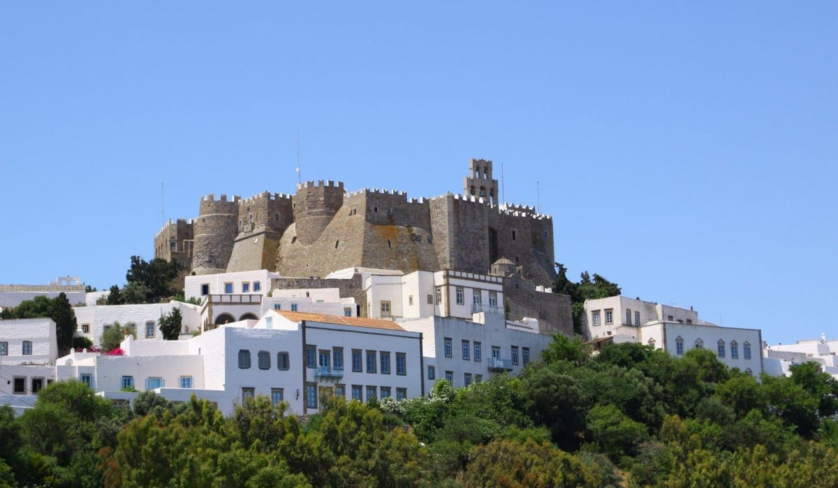 Patmos dodecanese castle