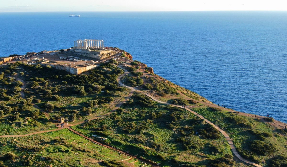 Poseidon Temple ,Cape Sounion, Greece