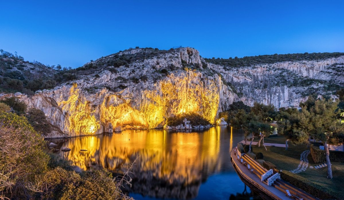 Vouliagmeni Lake, Attica